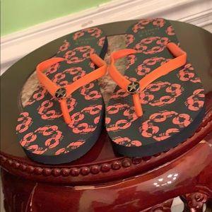 Famous designer Crown & Ivy flip-flops brand new